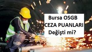Bursa OSGB Ceza Puanları 2017