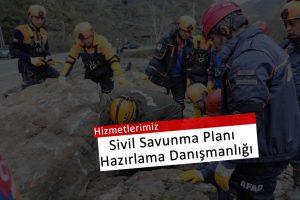 Sivil Savunma Planlarının Hazırlanması, Uygulanması ve Cezai yaptırımları hk bilgilendirmeleri içerir